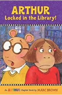Arthur Locked In The Library An Chapter Book Books