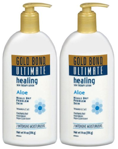 Ultimate Healing Skin Therapy Lotion, 14 oz, 2 pk by Gold Bond