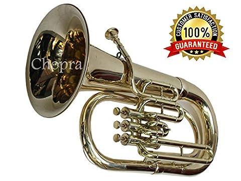 Euphonium 3 Valves (Tuba) Shinning Brass Bb FLAT