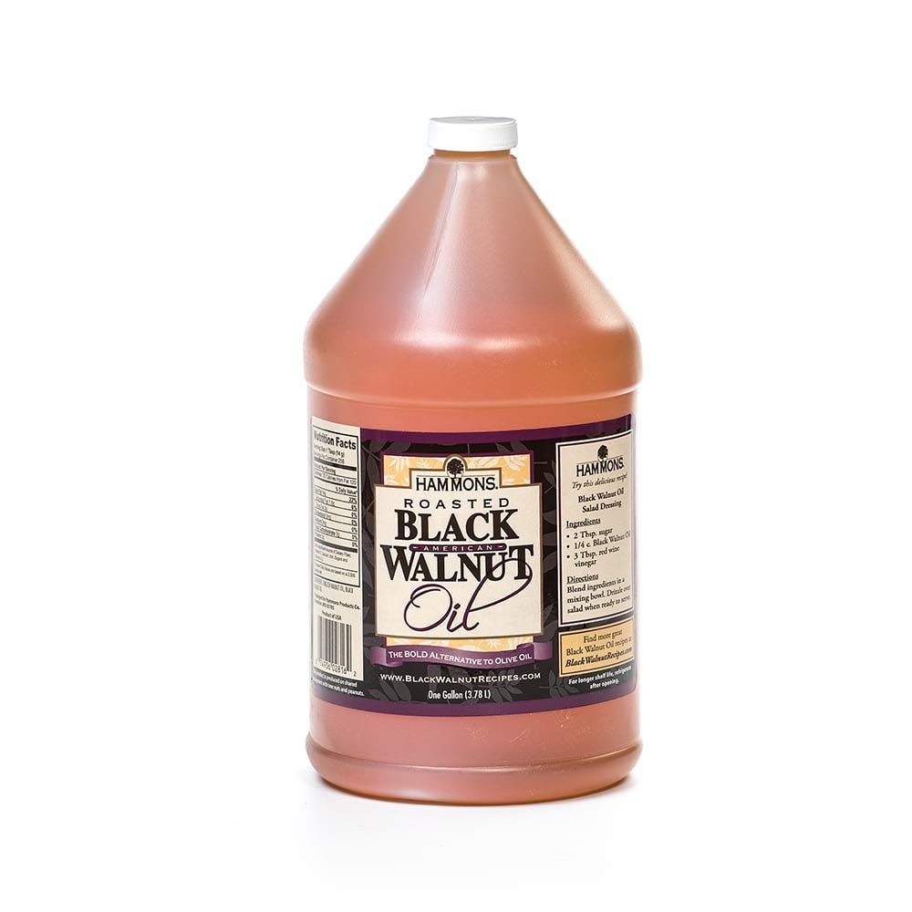 Black Walnut Oil - 1-gal Jug by Hammons Products Company