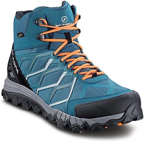 Scarpa Nitro Hike Gore-TEX Hiking Boots Blue/Silver