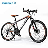Flying Pigeon Quakeproof Carbon 26'' Lightweight Bicycle Mountain Sports Bike