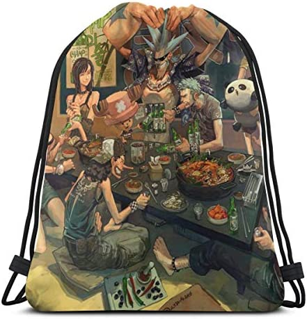 ワンピース One Piece10 人気 ナップサック 通勤 通学 マルチ バッグ 旅行 多機能 ナップサック 男女兼用 スイミングバッグ 巾着袋 登山 防水 軽量 バンドルポケッ