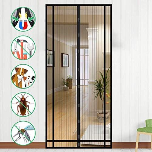 Mosquitera Puerta Magnetica, NASUM Mosquitera Magnética Cortina Magnética para Puertas de Salón, Balcón, Corredor: Amazon.es: Bricolaje y herramientas