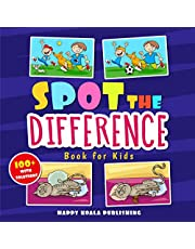 """Spot the Difference Book for Kids: More than 100 Crazy and Funny """"Search&Find"""" illustrations to improve Concentration and Observation Skills in kids of all ages. SPECIAL GIFT INSIDE!!!"""