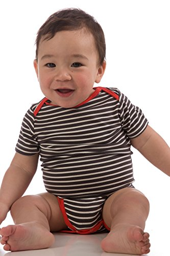 obs530-graphite-natural-small-3-6-months-short-sleeve-bamboodreams-baby-onesie-with-solid-mandarin-t