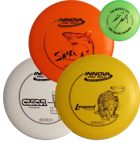 Innova DX Beginner Disc Golf Set with Mini by Innova - Champion Discs