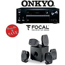 Onkyo TX-NR676 7.2-Channel 4K Network A/V Receiver + Focal SIB EVO 5.1-Ch Home Cinema Speaker System - Bundle