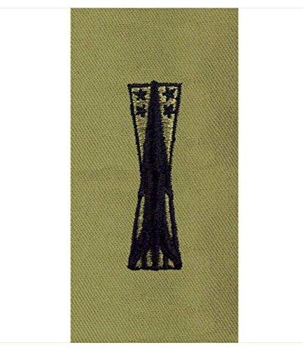 Vanguard AIR FORCE EMBROIDERED BADGE: MISSILEMAN - ABU