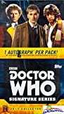 #4: 2017 Topps Doctor Who: Signature Series Factory Sealed HOBBY BOX with 4 AUTOGRAPHS! Look for Autographs from David Tennant, Jenna Coleman, Billie Piper, James Corden, John Hurt & Many More!