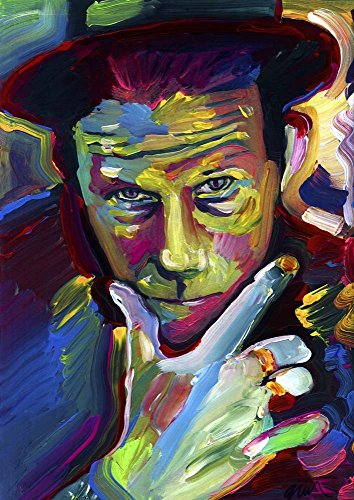 Tom Waits by Howie Green Art Print, 20 x 28 - Toms Returns Policy