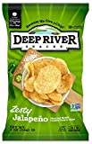 deep river kettle chips - Deep River Snacks Zesty Jalapeno Kettle Cooked Potato Chips, 2-Ounce (Pack of 24)