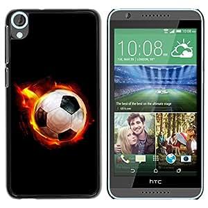 Graphic4You Soccer Football Sports Design Thin Slim Rigid Hard Case Cover for HTC Desire 820