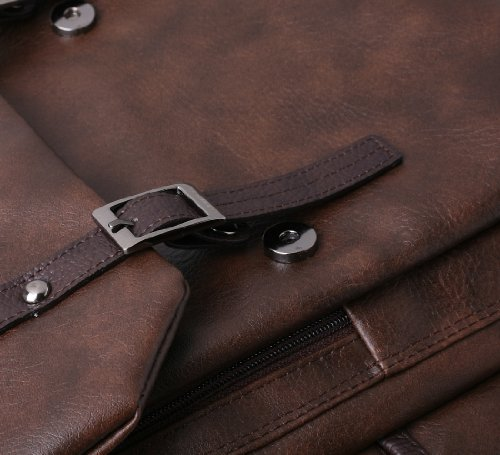 Rucksack für die Schule, Aktentasche, Laptop-Taschen, Casual schwarz braun