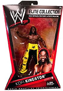 WWE serie Elite 9 Kofi Kingston Figura De Acción De Lucha Libre