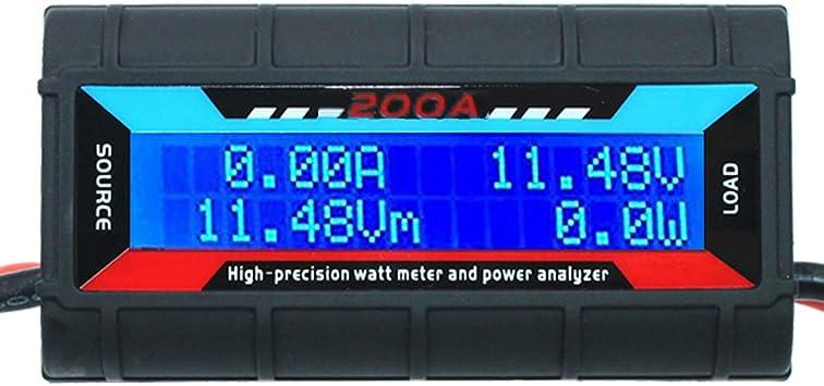 200a High Precision Wattmeter Detektor Power Analyzer Für Rc Modell Strom Spannung Leistung Baumarkt