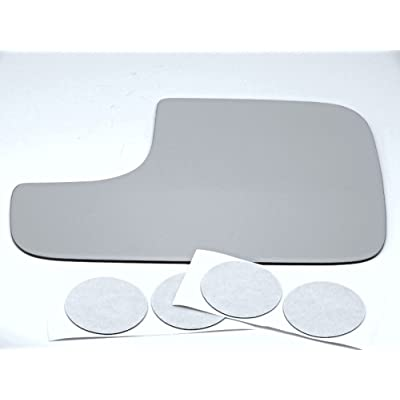 Aftermarket Mirrors Fits 98-08 Dodge Ram Left Driver Flip Up Tow Mirror Glass Lens Replacement w/Adhesive USA: Automotive