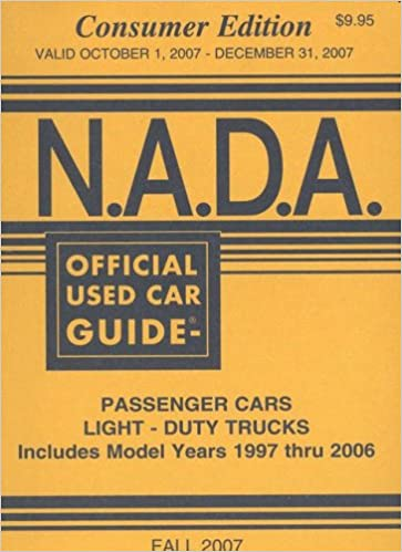 N. A. D. A. Official used car guide: passenger trucks, light-duty.