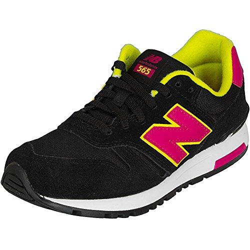 New Balance Damen-Sneakers WL 565 MY Suede/Mesh schwarz/pink 41
