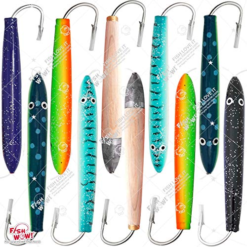(Fish WOW! 10pcs 6