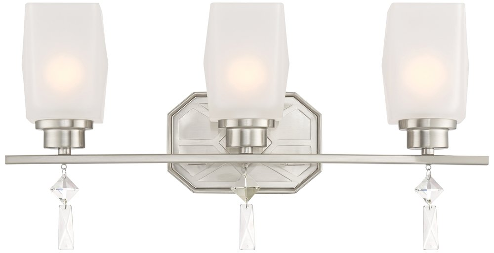 Designers Fountain 90103-SP Brentwood 3 Light Bath