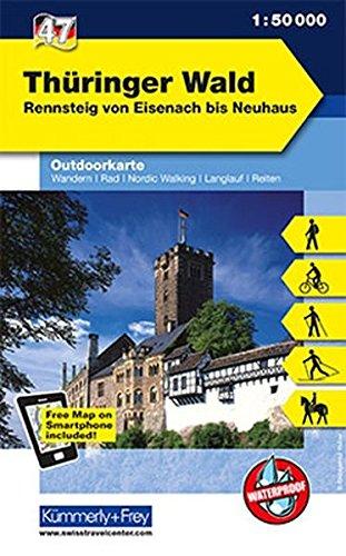 Read Online Thueringer Wald: KF.DE.WK.47 pdf epub