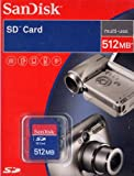 SanDisk 512MB SD Secure Digital Memory Card