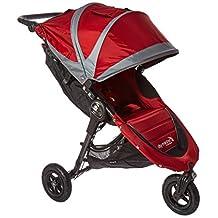 Baby Jogger 2016 City Mini GT Single Stroller - Crimson/Gray