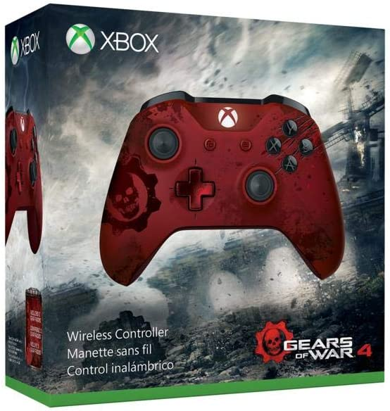 Microsoft - Mando Inalámbrico, Edición Limitada Gears Of War 4 ...