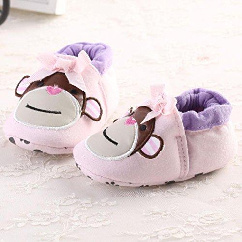 Clode® Chaussures bébé Sneaker Anti-dérapant Chaussures Semelles souples Toddler (6~12 mois)