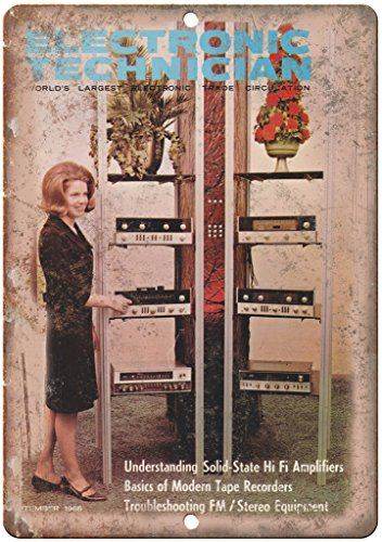 Electronic Technician Trade Magazine Ad 12