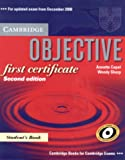 Objective First Certificate, Annette Capel and Wendy Sharp, 0521700639