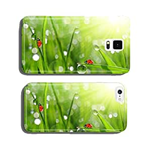 fresh morning dew and ladybirds cell phone cover case iPhone6 Plus