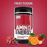 Cheap OPTIMUM NUTRITION ESSENTIAL AMINO ENERGY, Fruit Fusion, Preworkout and Essential Amino Acids with Green Tea and Green Coffee Extract, 30 Servings