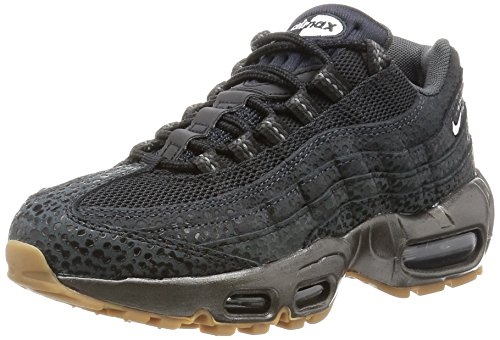 807443-002 WOMEN AIR MAX 95 PRM NIKE BLACK/ANTHRACITE by NIKE
