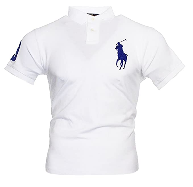 more photos 0efb8 80af3 Ralph Lauren Herren Kurzarm Polo Shirt Big Pony
