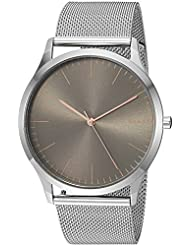 Skagen Mens Jorn Quartz Stainless Steel Casual Watch, Color:Silver-Toned (Model: SKW6368)