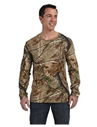 Code Five Men's Double-Needle Fine Camouflage Jersey T-Shirt