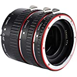 Senyar Auto Focus Macro Extension Tube Metal Mount Ring for Canon EF/EF-S Lens, Adjustable Lens Extension Tubes