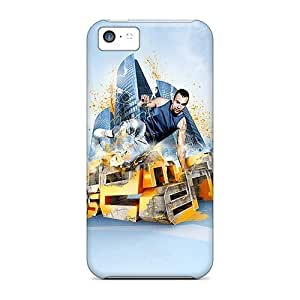 Hot Design Premium VtM28023pFEn Cases Covers Iphone 5c Protection Cases(abstract Sport)