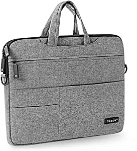 """Star Laptop Sleeve Cover Case Carry Shoulder Messager Bag Pouch Storage For MacBook Pro 15 Inch And 15.4"""" inch Grey"""