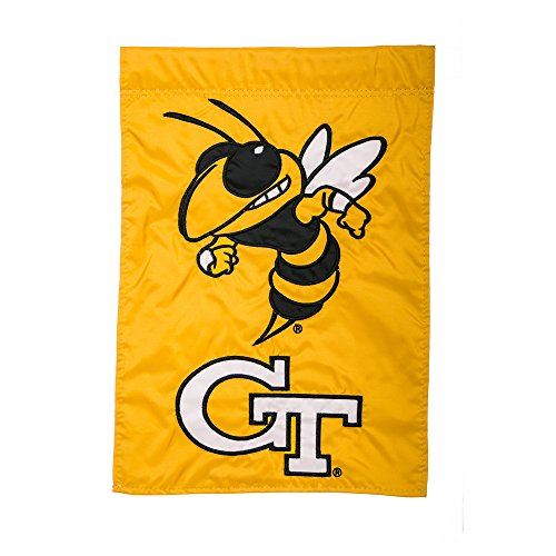 (Team Sports America Georgia Tech Yellow Jackets Flag 12.5 x 18 Inches )