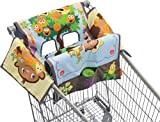 Infantino Shop and Play Cart Cover, Monkey Garden, Baby & Kids Zone