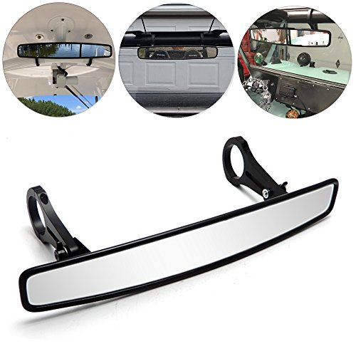 2 Rear View Mirror for Can Am Maverick Commander Turbo Polaris Range Cage Clamps