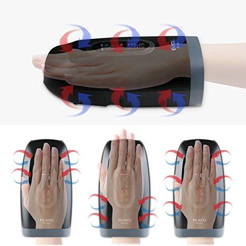 New 2018 Dr.ACU Prestige Wireless Reflexology Hand Palm Fingers Wrist Air Acupuncture Acupressure Massager