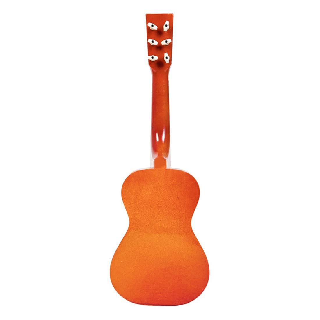 Yvsoo Guitarra Juguete 6 Cuerdas Guitarra Ni/ños Infantil Madera Guitarra Instrumentos Musicales Educativos Simulaci/ón Juguete Regalo para Principiante P/úrpura