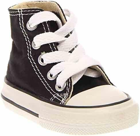 Converse 7J231 Kids Toddler Chuck Taylor All Star HI Black