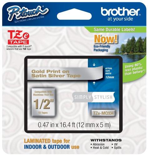 Brother Laminated Tape Silver TZeMQ934
