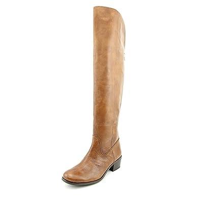 eff64337bfe I-N-C International Concepts Beverley Over-The-Knee Boot Cognac Women s 6.5  ...
