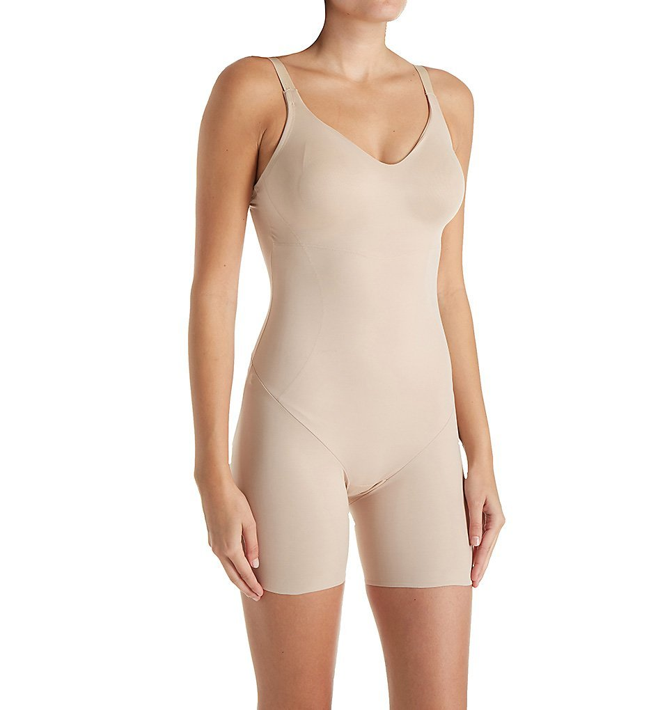 TC Fine Intimates Low Back Bodysuit Nude 34D